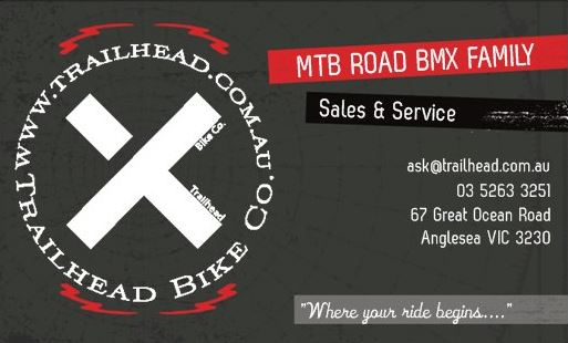 Weve updated our logo and business cards trailhead bike co reheart Images